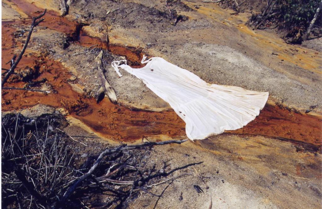 la robe in situ,juillet 2003