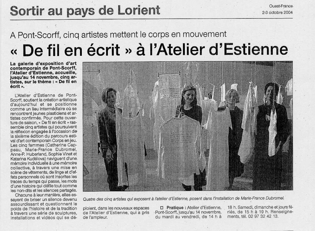 article pontscorff 2004
