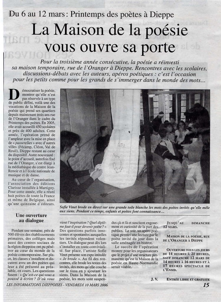 3 article 2 dieppe 2006